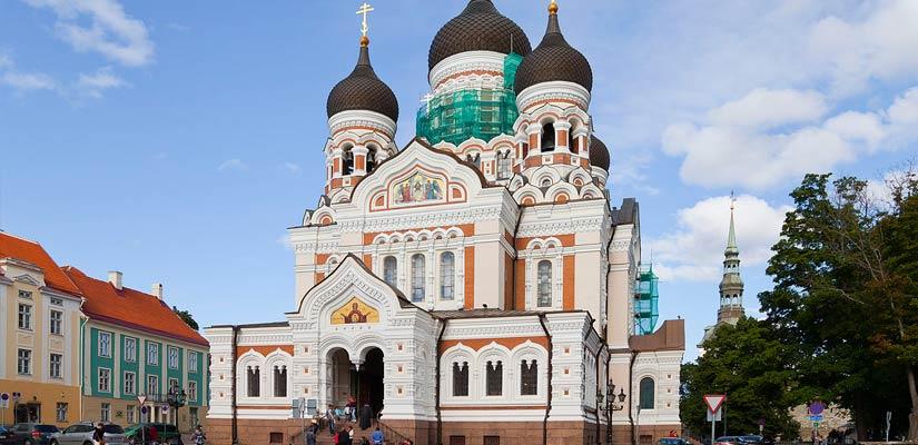 Alexander Nevskys Katedral, Tallinn.