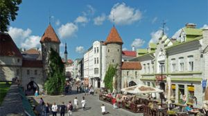 Viru port, Tallinn