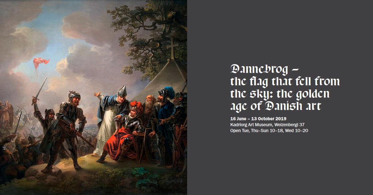 Dannebrog udstilling på Kadriorg Museum