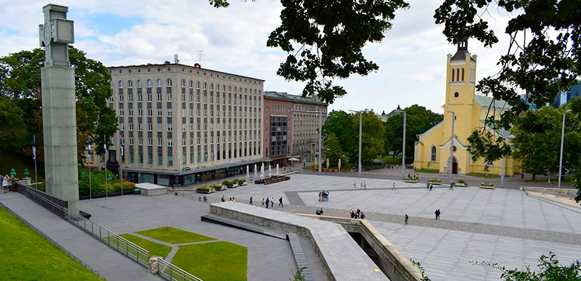 Frihedspladsen i Tallinn